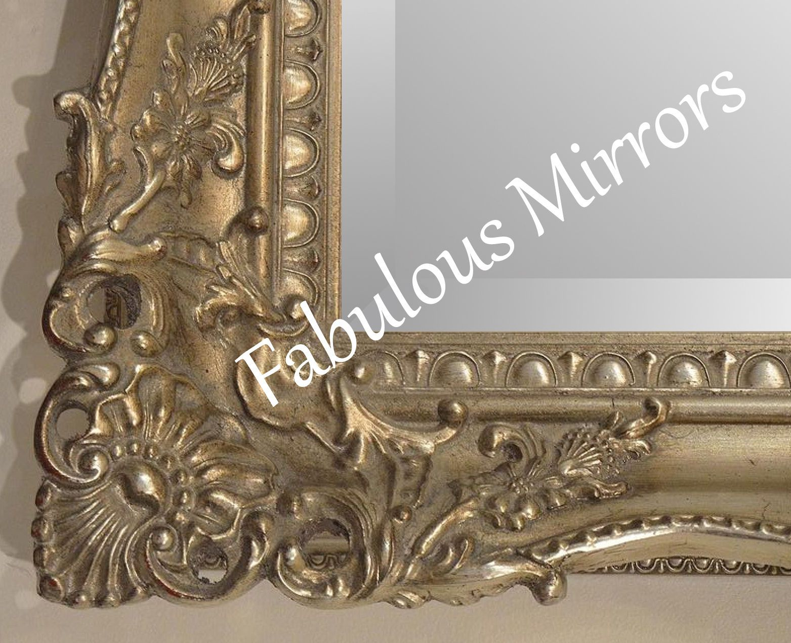 Antique silver shabby chic ornate decorative carved wall mirror antique silver shabby chic ornate decorative carved wall mirror 375 x amipublicfo Choice Image